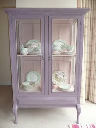 Ex Display Bathroom Furniture by Shabby Chic Vintage Glass Display Cabinet Painted With Annie Sloan