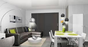 décoration intérieure salon cuisine dã coration d un salon ã cannes â mh deco le