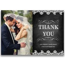 thank you card gallery collection of wedding photo thank you