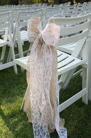 bows for wedding chairs wedding ceremony chair decorations diy memorable wedding tulle