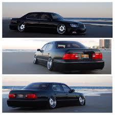 bagged ls400 2000 ls400 liberty vip car 12k 160k mi bagged red interior