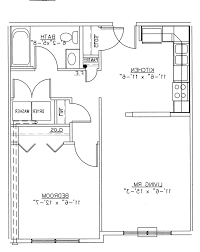 One Room Cottage Floor Plans Home Design Awesome One Room House Plans 10 Bedroom Floor