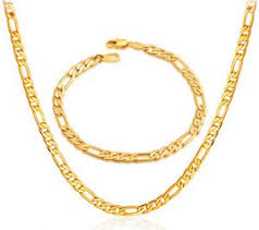 golden necklace men images Buy gold necklace for men alwan accessories amazon collection jpg