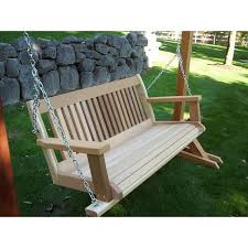 Patio Swing Frame by Porch And Lawn Swings Nutshell Stores Free Shipping Everyday