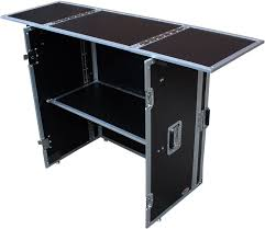 Fold Away Desk by Prox Xs Djstn Fold Away Dj Desk Facade W Wheels Pssl