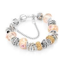 charm bracelet european images Innocententre yakamoz european ribbon charm bracelets for women luxury jpg
