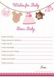 wishes for baby cards wishes for baby card girl baby shower wishes for baby girl