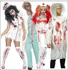 Mens Doctor Halloween Costume Mens Zombie Doctor Womens Zombie Nurse Halloween Themed Fancy