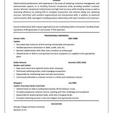 new cashier job resume ae example for head description x cover letter