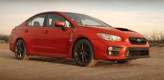 subaru red 2018 subaru wrx and wrx sti track footage is adrenaline filled