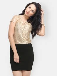 faballey gold tops buy faballey gold tops online in india