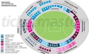 Anz Stadium Floor Plan Spotless Stadium Sydney Olympic Park Events U0026 Tickets Map