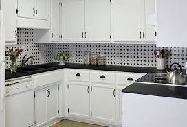 kitchen tile design ideas kitchens with black and white tile my home design journey