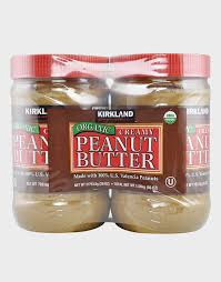 cuisine de a 0 z organic peanut butter by kirkland signature 2 jars of 793