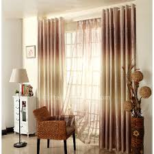 Ombre Window Curtains Country Window Curtains In Gold Color Of Ombre Visual Feeling