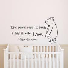 Winnie The Pooh Home Decor by 39 Winnie The Pooh Wall Decal Winnie The Pooh Wall Decal By