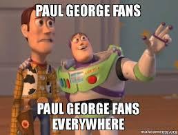 Paul George Memes - paul george fans paul george fans everywhere hypebeast fans make