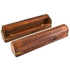 wooden coffin wooden coffin incense burner vines 12 brass