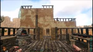 Adobe House Ark Scorched Earth Ep 3 Adobe House And Fence Montage Youtube