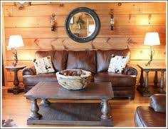 cabin style decorating ideas indigo blue design trends and cabin