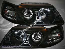 ebay mustang headlights 99 04 ford mustang projector black blk projector headlights lamp