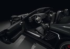 porsche 911 inside black edition models debut for 2016 porsche 911 and boxster