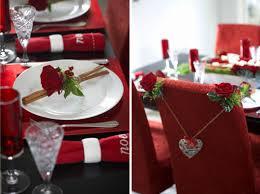 elegant red dining table decor light dining room