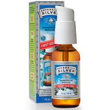 sovereign silver silver first aid gel 1 fl oz 29 ml iherb com