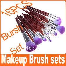 discount professional makeup aliexpress buy big discount 16 pcs professional makeup brush
