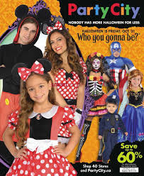 party city halloween store party city canada flyers