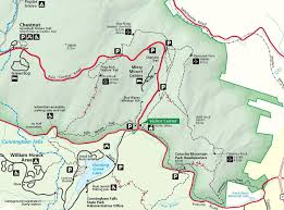Green Ridge State Forest Camping Map by Hiking Catoctin Mountain Park U S National Park Service