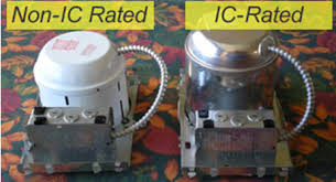 4 inch ic rated recessed lighting remodel comparisons between ic and non ic rated recessed housing torchstar