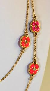great necklace kate spade pink gold perfectly flutter floral scatter