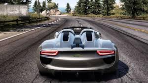 porsche 918 concept need for speed pursuit porsche 918 spyder concept study