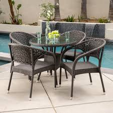 How To Fix Wicker Patio Furniture by White Wicker Outdoor Chairs U2013 Home Designing
