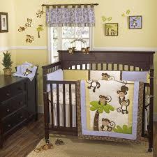 Baby Boy Monkey Crib Bedding Sets Cocalo Sugar Plum Mobile Babies R Us Nursery Baby Crib Bedding