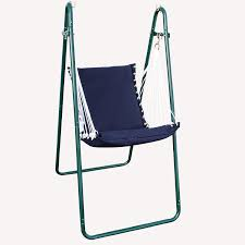 Swing Chair With Stand Algoma Swing Chair And Stand Combination