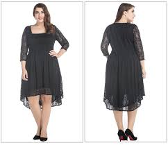 2017 plus size lace dresses 2017 summer style chubby women
