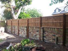 Privacy Fence Ideas On Top Of Block Walls Of Privacy To Your - Brick wall fence designs