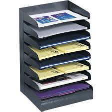Home Office Organizers Desktop Paper Organizer In File And Mail Organizers