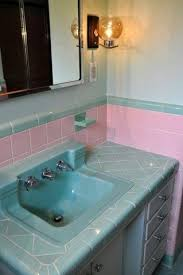 18 best pink tub images on pinterest bathroom ideas 1950s