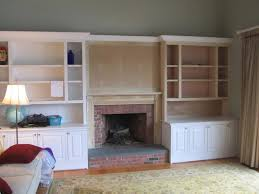 Fireplace Mantels With Bookcases Built In Bookcase And Mantle Installation A Concord Carpenter
