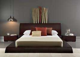 japanese style bed design ideas in contemporary bedroom interiors