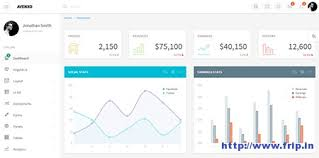 50 best bootstrap admin dashboard template 2015 frip in
