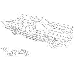 wheels 1966 batmobile coloring