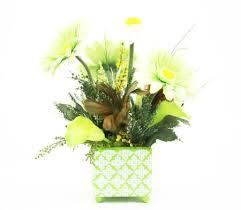 buy silk flower centerpiece arrangement home decorating ideas