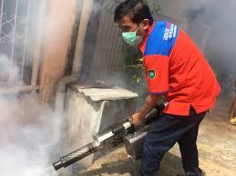 Sisir Indo partai perindo cegah dbd dengan fogging rescue perindo sumsel