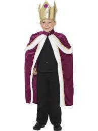 Halloween Costumes Ebay Boys Kiddy King Costume Fancy Dress Medieval Royalty Ebay