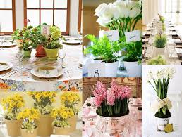 potted flowers potted flower centerpieces