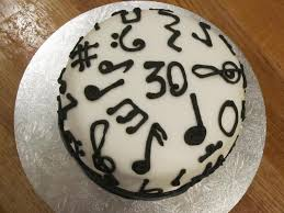 musical note cake reflections of a foodie
